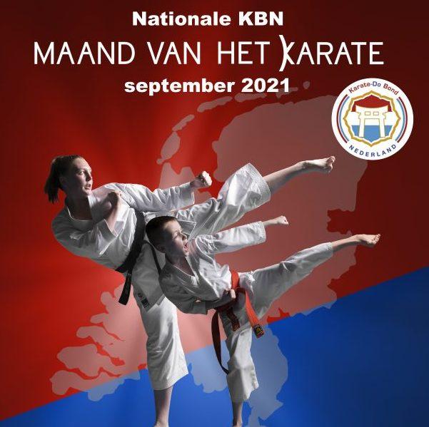 September 2021 - maand van het karate